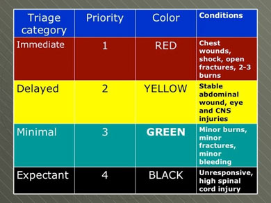 1 - Triage Matrix
